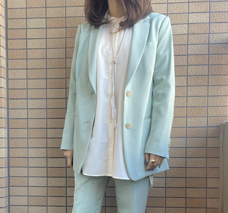 【GU】流行のバンドカラーシャツは低身長でも着こなせる!_2