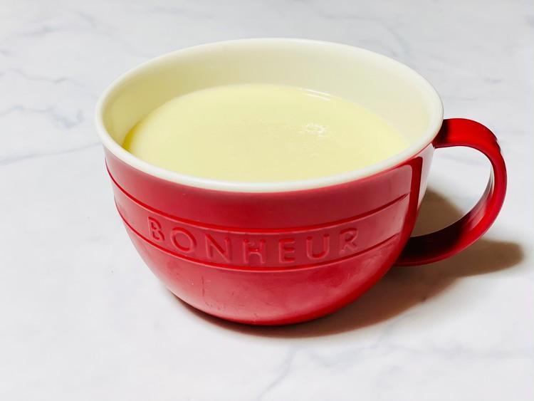 【ボヌールシリーズ6】スープマグにスープを入れた写真
