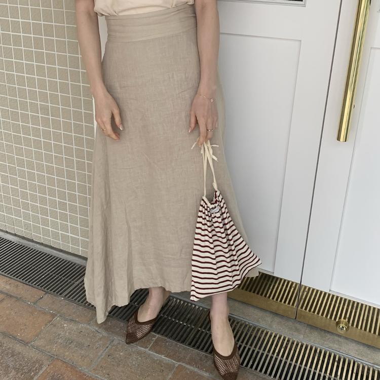ALLプチプラ♡服&サンダルは「ブラウン」投入で高見え狙い!_1