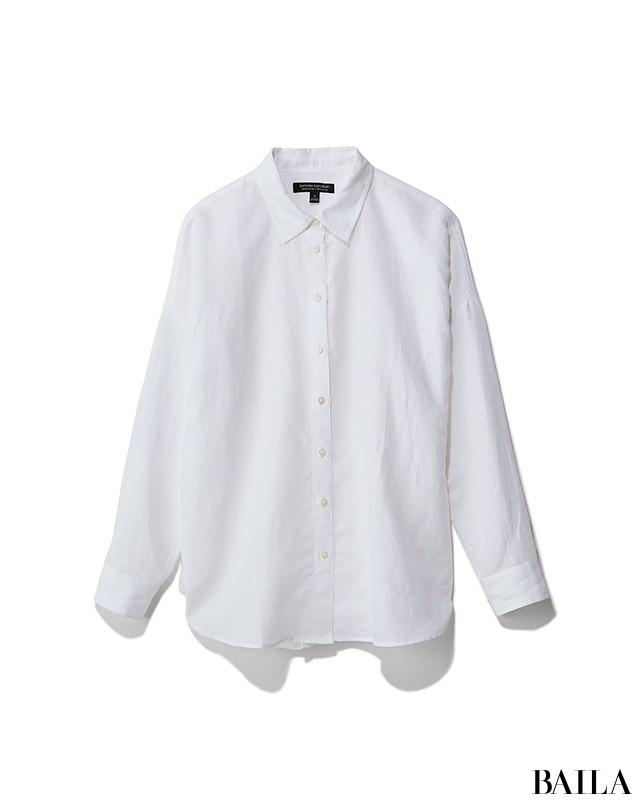 白シャツを使ったモードスタイルで、レセプションパーティへ♪【2019/5/10のコーデ】_2_1