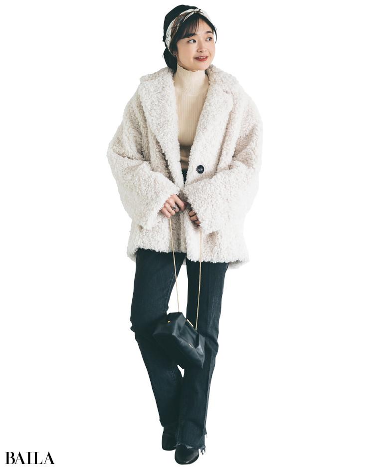【30代スタイリストが私服でアンサーまとめ】リアルだから役に立つ。その冬服はもっと素敵に着られる!_9
