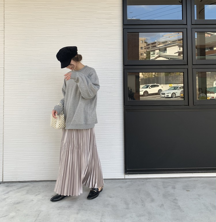 【購入品】春にマスト。fifthのプリーツスカート_5