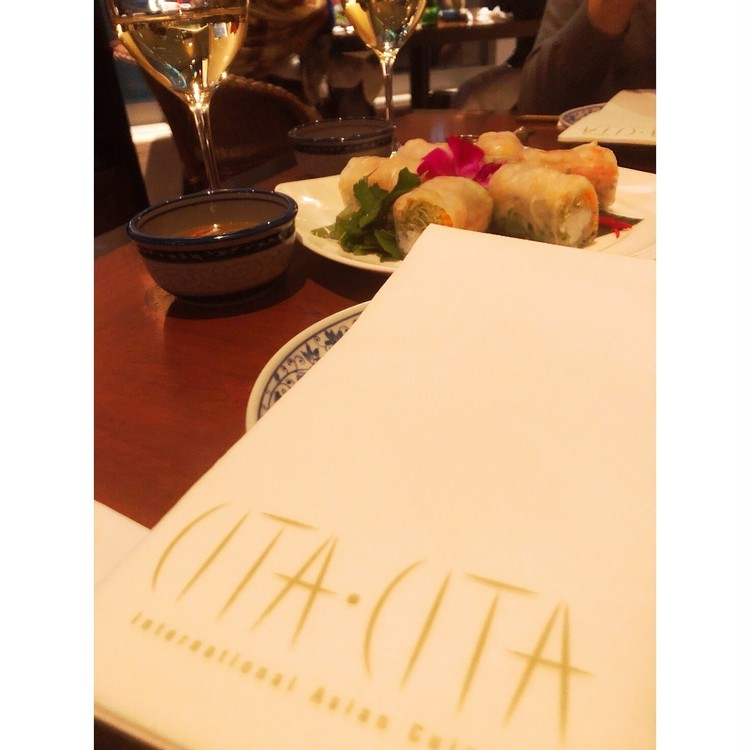 バレリーナカーデを着て♡丸の内タイ料理ごはん_1