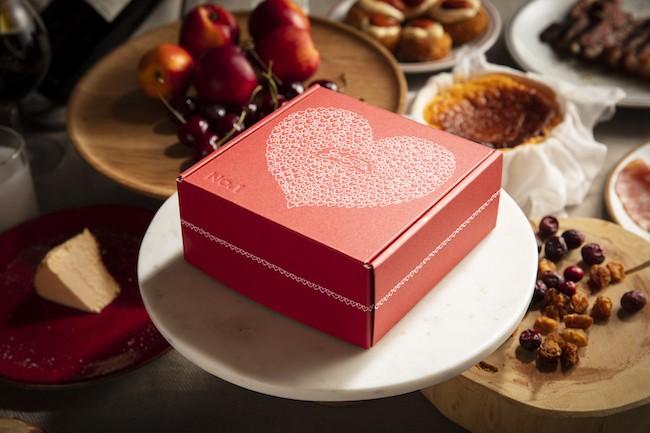 パッケージも味も最高♡話題のレストラン「golosita.」の飛び売れチーズケーキにバレンタイン限定パッケージが登場_2