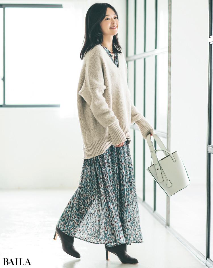 【30代スタイリストが私服でアンサーまとめ】リアルだから役に立つ。その冬服はもっと素敵に着られる!_12