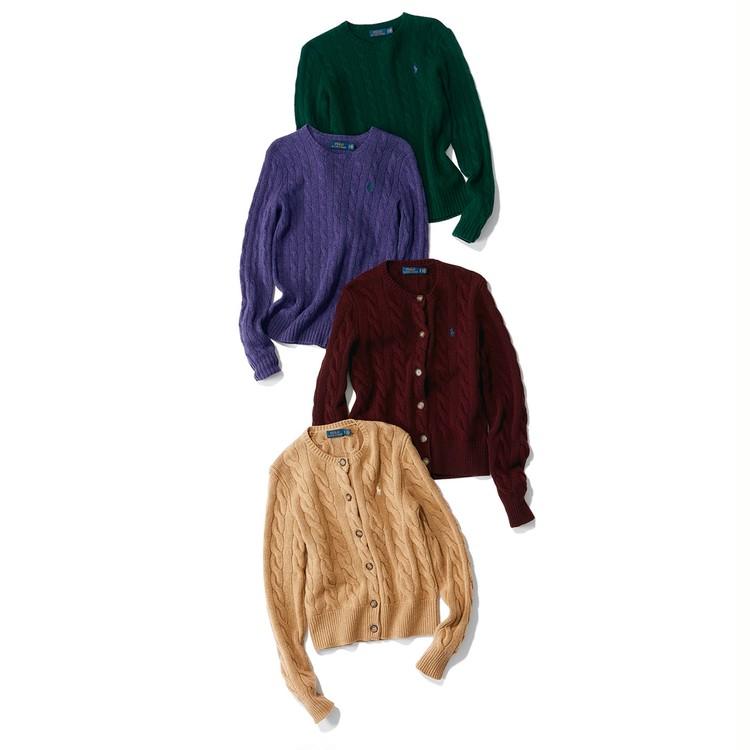 【旬カラーで洗練スタイルをかなえる】ポロ ラルフ ローレンの上品ブラウン&モダングレー_9
