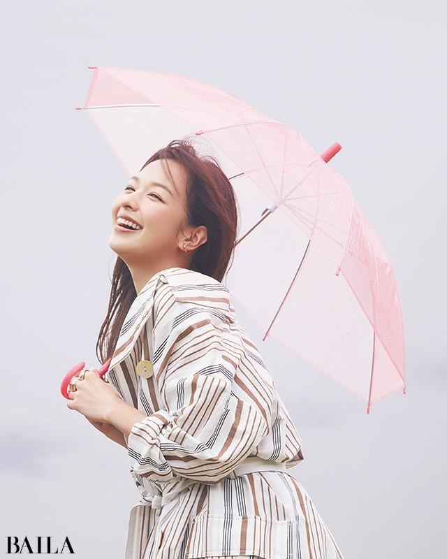 """【湿度に負けないきれいの秘訣】中野明海さんが教える""""雨映え""""ヘア&メイク_2"""
