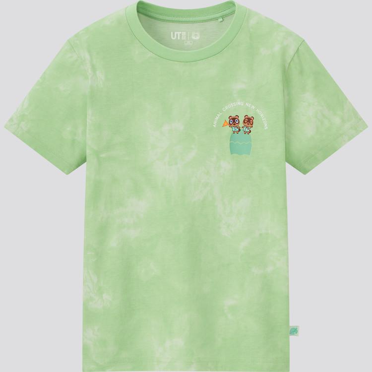 KIDS あつまれ どうぶつの森 UT グラフィックTシャツ(半袖) グリーン