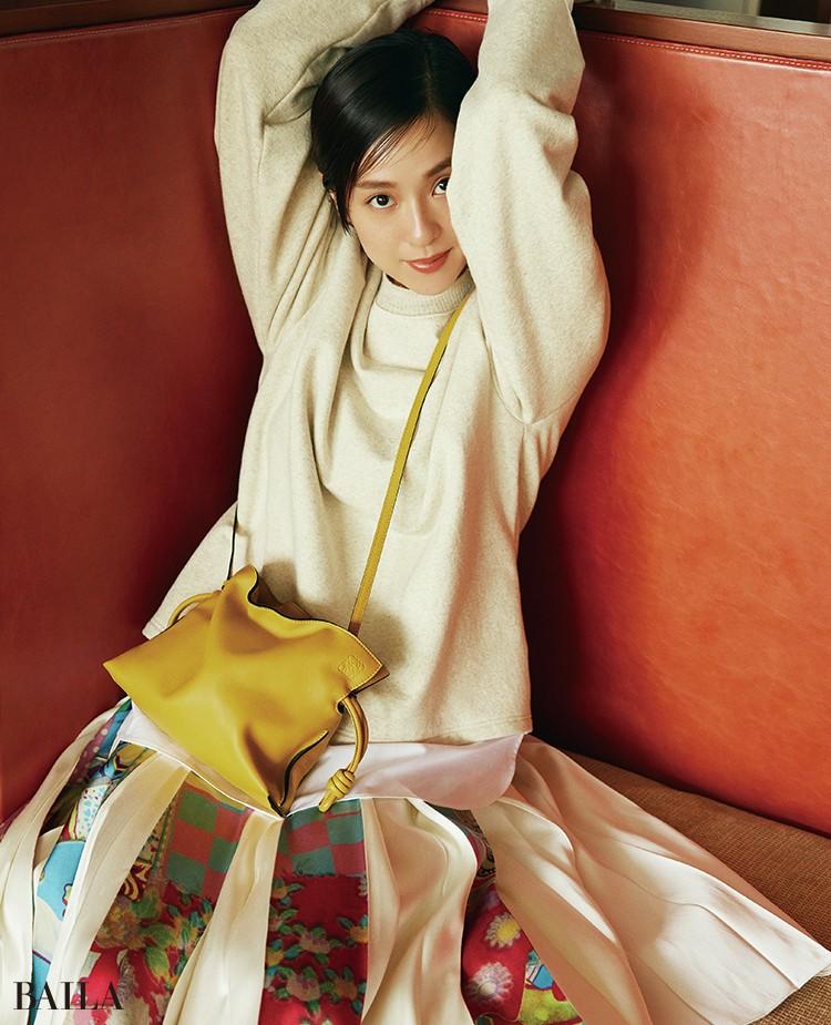 中村アン バッグ「FLAMENCO CLUTCH MINI BAG」(18×23.9×9 )¥216700