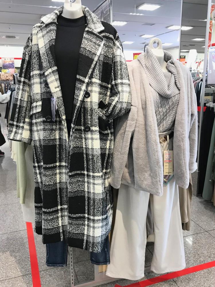 ¥3900コートに¥280タイツ【しまむら】 #しまパト で狙いたい本当にコスパがいい服はコレ!_1