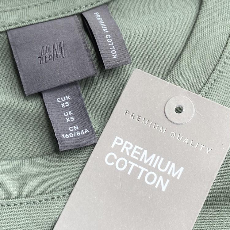 H&MのプレミアムコットンTシャツ