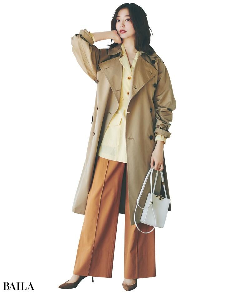 バサッと羽織ればサマになるオーバーサイズが大人の余裕