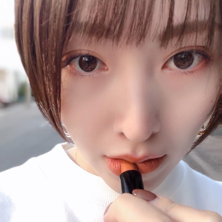 \ 大人気 / Lancômeイプノパレットでオレンジメイク♡_5