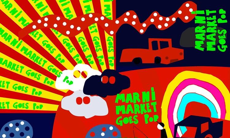 関東では初【 MARNI MARKET GOES POP】表参道ヒルズで8月3日から開催!