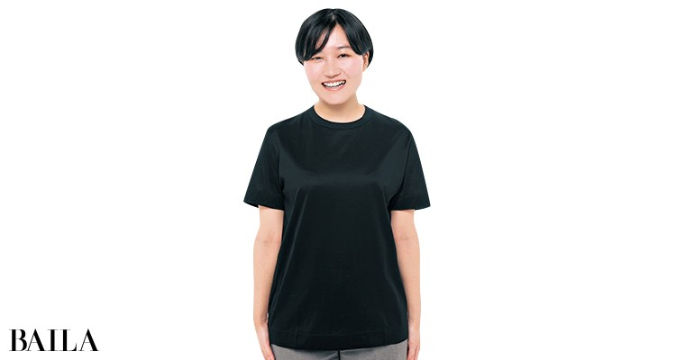 スローンのTシャツを編集Mが試着