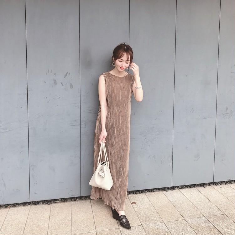 【BIRTHDAY BASH】高見えプリーツワンピース♡_1