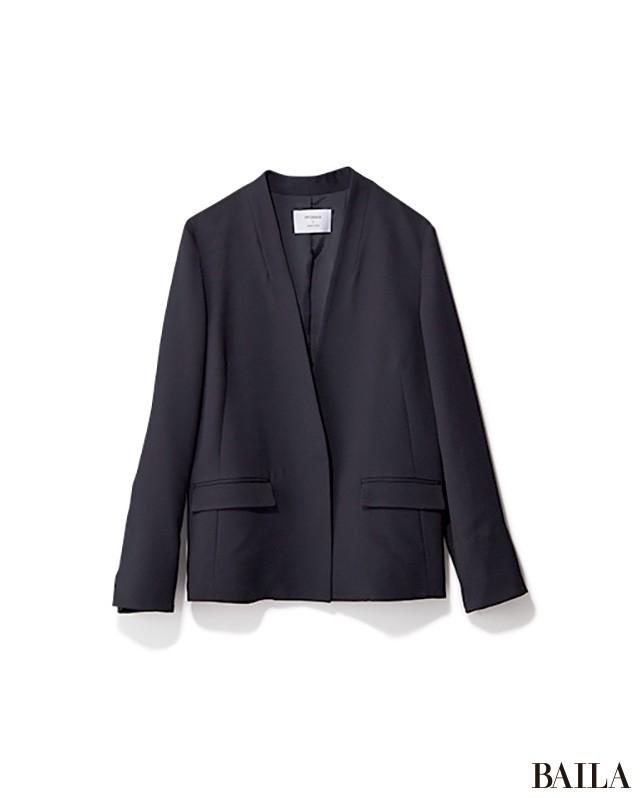 腰高フレアスカートで、きちんとジャケットを華やか&女っぽく!_2_3