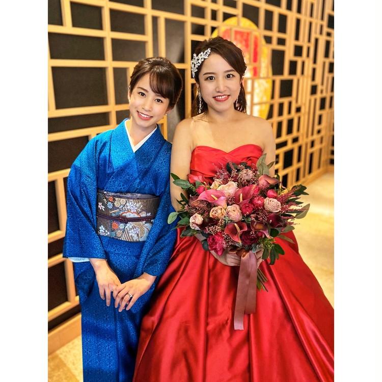 着物に恋して♡大好きなお姉ちゃんの結婚式_5