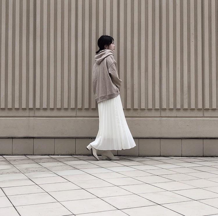 ユニクロのスカート