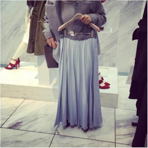 今年は大人っぽいプリーツスカートに注目!_3