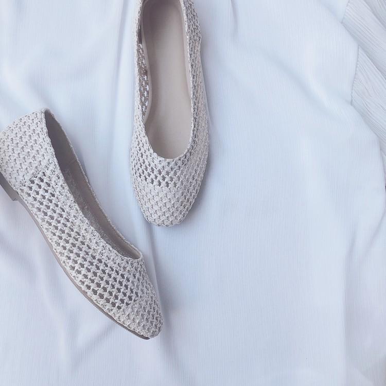 【GU春靴】履き心地最高!今季注目素材のバレエシューズ_3