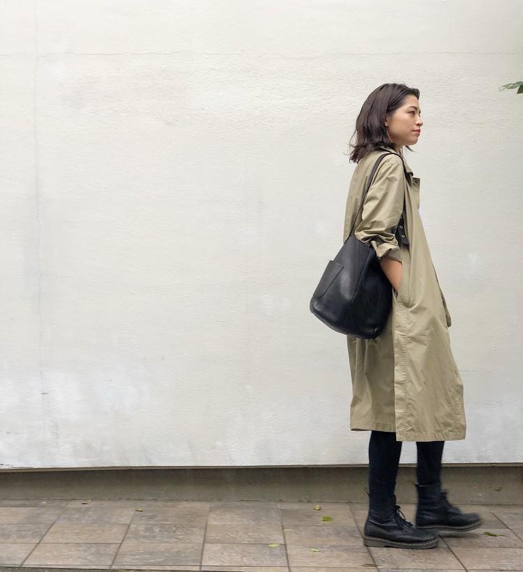 再販で入手!【UNIQLO U】春に即完売した薄軽コート(¥7990)_6