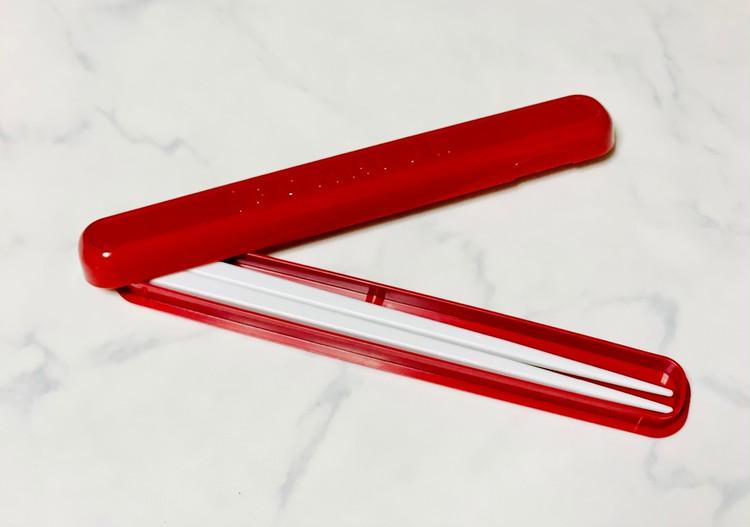 【ボヌールシリーズ4】お箸ケースセットの開いたところ