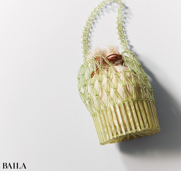 ル・ベルニのビーズバッグ