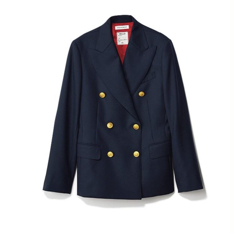 ランチミーティングの日は、まろやかトーンのスカートコーデにジャケットをプラス【2018/9/6のコーデ】_3_3