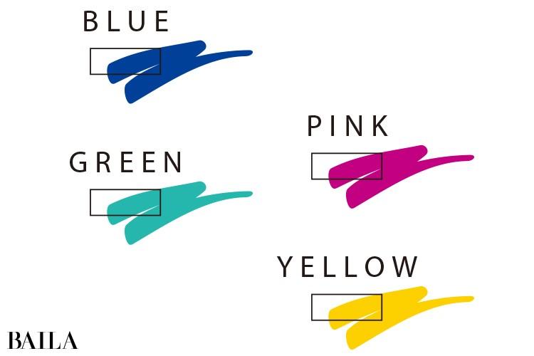 ブルベ×男顔の人は青や赤紫を含む濃い色が好相性