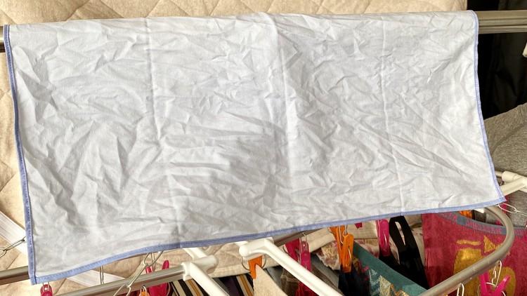 【ユニクロ(UNIQLO)】超速乾&抗菌防臭ファインクロスハンカチ 洗濯