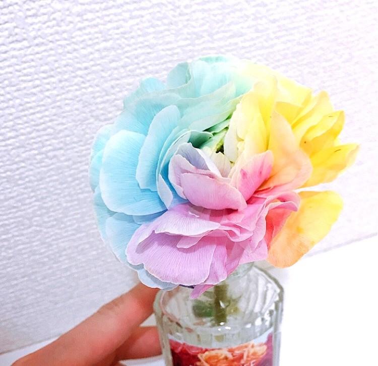 お家時間の癒し。花のある暮らしを楽しんでます_1
