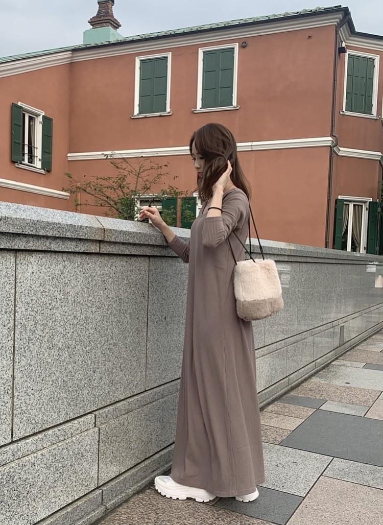 秋冬の甘カジュブラウンワントーンコーデ♡_4