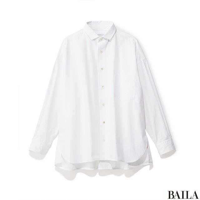 初夏の白シャツカジュアルで、休日のお出掛けを大人っぽく♡【2018/6/9のコーデ】_2_1