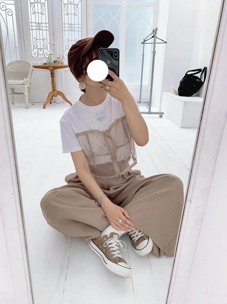 【コーデ画像】今年はTシャツが豊作!プチプラビッグTからロゴTまで色々…♡_3