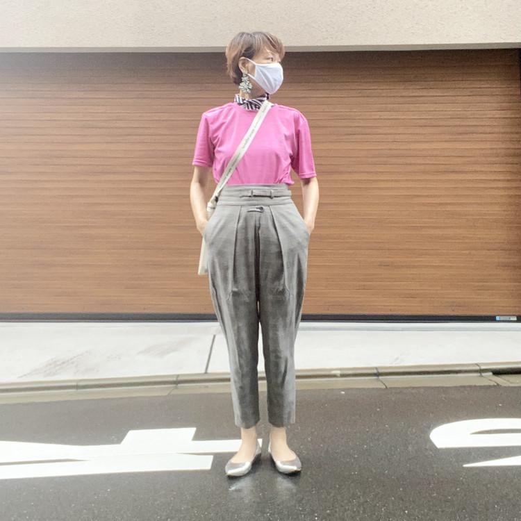 ワークマン WORKMAN #ワークマン女子 買ってよかった 2021春夏 おすすめ 冷感リフレクティブ半袖Tシャツ レディースコーデ