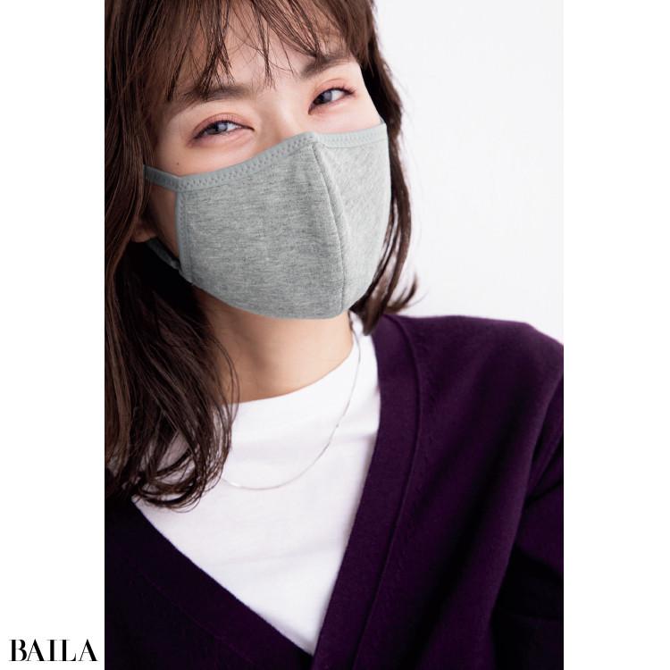 ブルベ肌に合うグレーのマスク