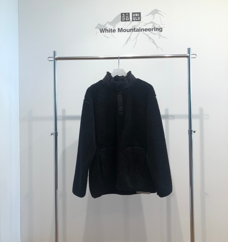フリースオーバーサイズプルオーバー(長袖)¥2990