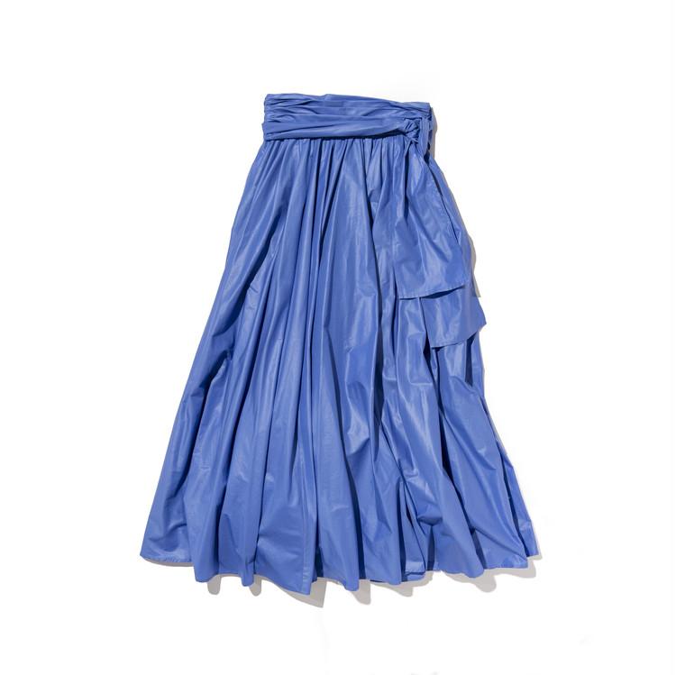 フレイアイディーのギャザーフレアスカート全体