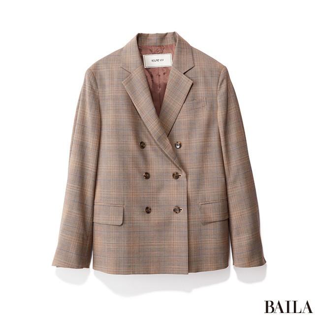 春のきれいめジャケットスタイルは、カラーカーデで華やかに!_2_1