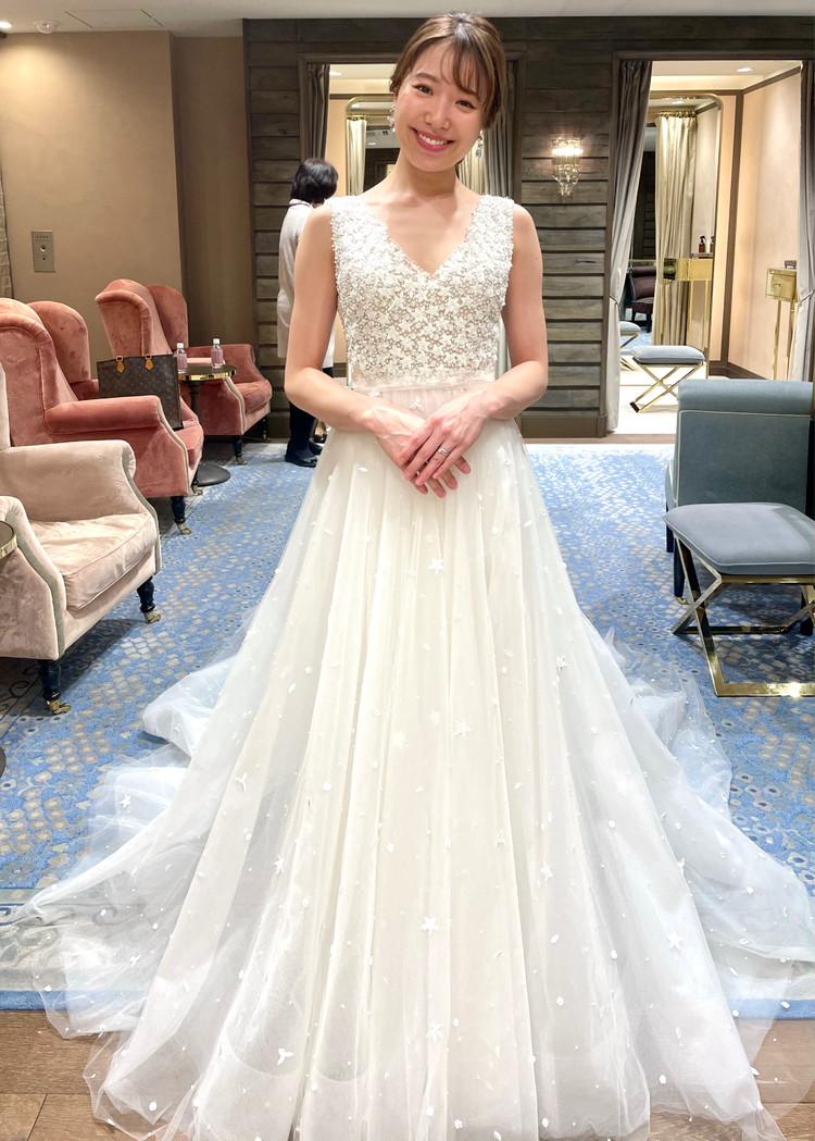 準備再開【パレス花嫁】2021SS新作ドレスを試着しました♡_1