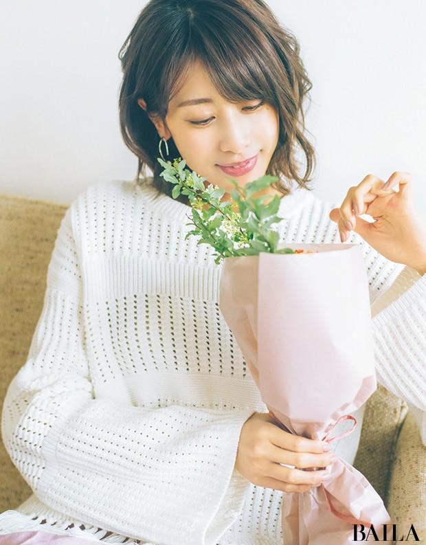 ときめいたお花3種類で作る、春の小さなブーケ【カトパンのあえて小さく飾る花レッスン】_1