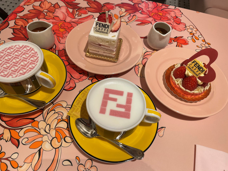 <心もお腹も満たされる>話題の「FENDI CAFE」へ♡_5