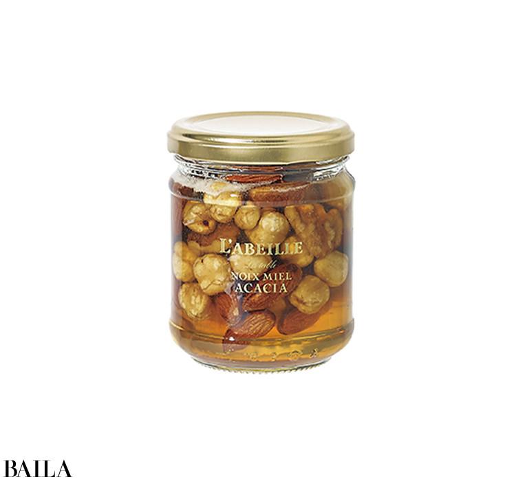 Honey&Nuts【はちみつとナッツ】をちょい足し!