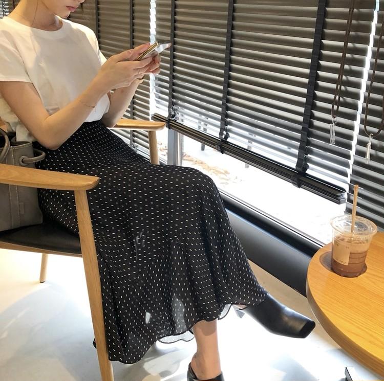 UNIQLO Tシャツで大人フェミニンスタイル♡_6