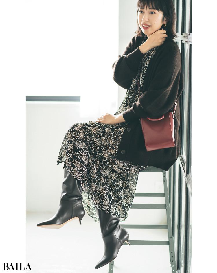 【30代スタイリストが私服でアンサーまとめ】リアルだから役に立つ。その冬服はもっと素敵に着られる!_11