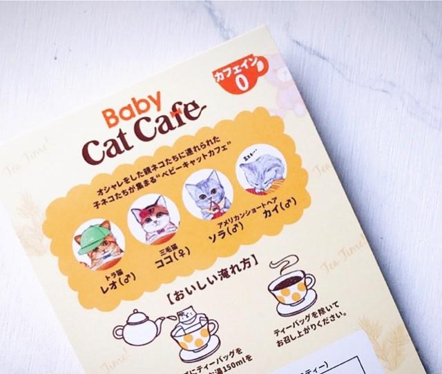 おうちで猫カフェ気分?!猫好きさん必見!可愛すぎるルイボス茶_3