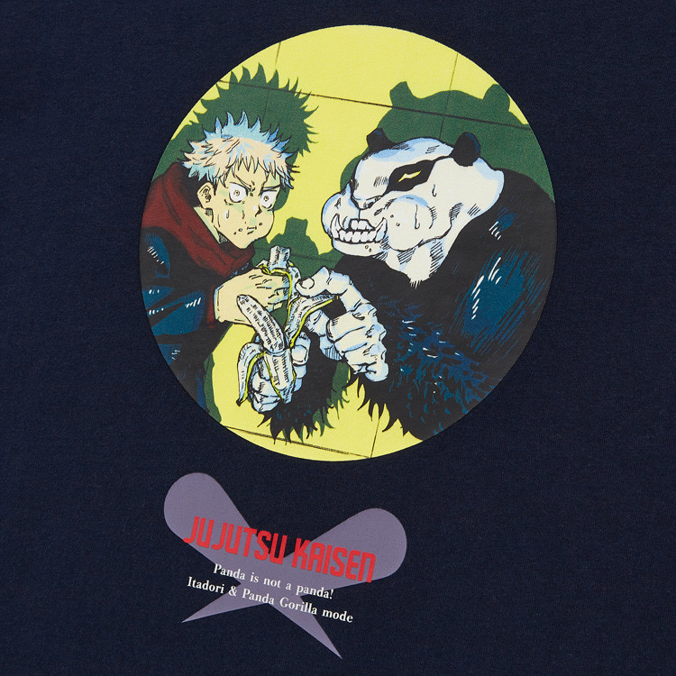 KIDS 呪術廻戦 UT グラフィックTシャツ 虎杖 悠仁 パンダ(半袖)¥990 Detail