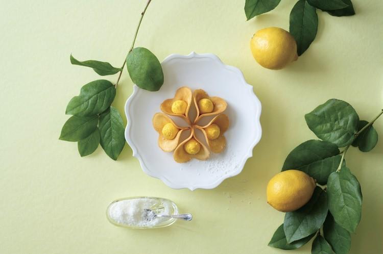 夏限定の爽やかな「ルフル レモンココナッツ」の写真