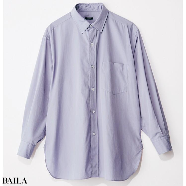 イレーヴのブルーシャツ